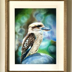 Animal fine art of Kookaburra bird